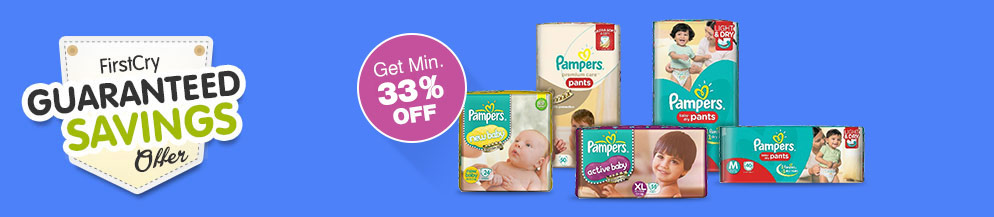 Pampers Guaranteed Savings offer