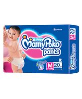 MamyPoko Pants Pant Style Diapers Medium - 20 Pieces