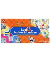 Toysbox - Big Ludo Snakes And Ladders