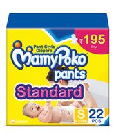 MamyPoko Standard Pant Style Diapers Small - 22 Pieces