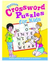 Shree Book Centre Picture Crossword Puzzles For Kids - Yellow