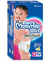 MamyPoko Extra Absorb Pant Style Diaper Medium - 42 Pieces