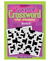 Dreamland Publication Super Crossword 4 - English