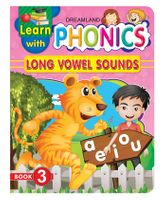 Dreamland Publication Learn With Phonics Book 3 - English