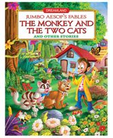 Dreamland Jumbo Aesops The Monkey And The Two Cats - English