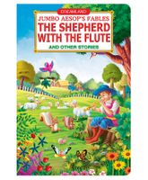 Dreamland Book Jumbo Aesops English - The Shepherd With The Flute