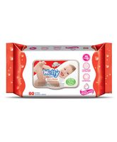 Xtra Care Wetty Wipes Cherry Blossom - 80 Pieces