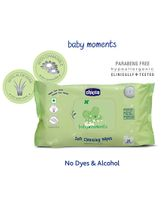 Chicco Baby Moments Soft Cleansing Wipes - 20 Pieces