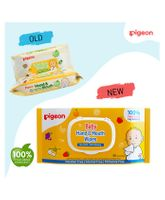 Pigeon Hand And Mouth Wipes 60 Pieces - Pack Of 2