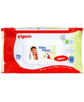 Pigeon Baby Wipes 70 Pieces Pack