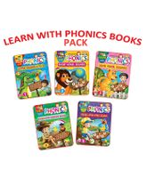Learn With Phonics Book Pack of 5 Titles - English