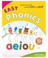 Easy Phonics Short Vowels - English