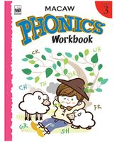 Macaw Phonics Workbook Level 3 - English