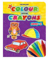 Dreamland - Colour With Crayons Book-3