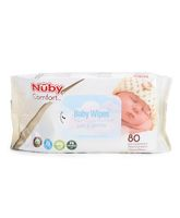 Nuby Stay Clean Baby Wipes 80 Pieces