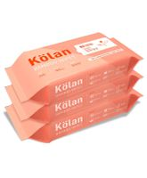 Kolan Eco-Friendly Bamboo Baby Wipes - 80 Pieces(Pack of 3)