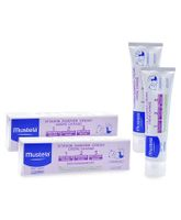 Mustela Vitamin Barrier Cream 1 2 3 - 100 ml  - Pack  Of 2