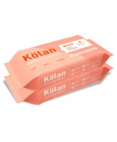 Kolan Eco-Friendly Bamboo Baby Wipes - 80 Pieces (Pack of 2)