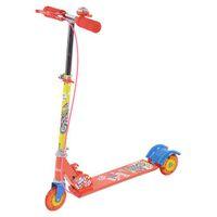 Toyhouse Three Wheeled Metal Folding Skate Scooter - Red