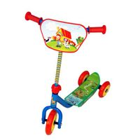 Toyhouse Three Wheeled Lil' Skate Scooter - Green Blue