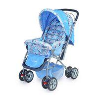 Luv Lap Baby StarShine Stroller Cum Pram Sky Blue - 18139