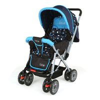Luv Lap Sunshine Baby Stroller With Mosquito Net Blue And Black -...