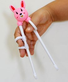 Tipy Tipy Tap Teddy Learning Chopsticks - Pink