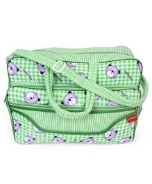 Sapphire Diaper Bag - Green (Print May Vary)