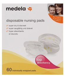 Medela Disposable Bra Pads - 60 Pieces