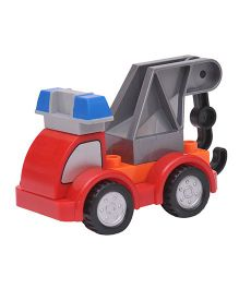 Happykids Pull & Push Construction Truck - Red