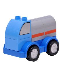 Happykids Pull & Push Construction Truck - Blue