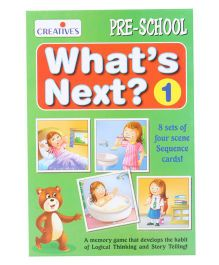 Creative What's Next 1 Card Game - Multicolor