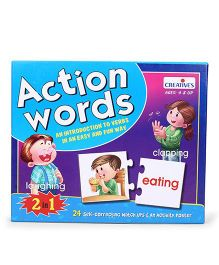Creative Action Words 2 in 1 Pack