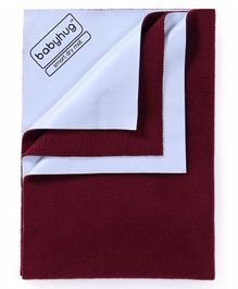 Babyhug Smart Dry Bed Protector Sheet Large - Maroon