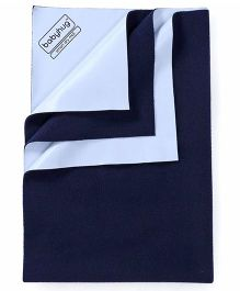 Babyhug Smart Dry Bed Protector Sheet Extra Large - Navy Blue