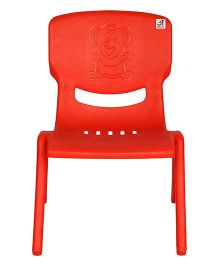 Abhiyantt Bear Shape Chair - Red
