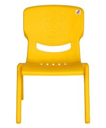 Abhiyantt Bear Shape Chair - Yellow