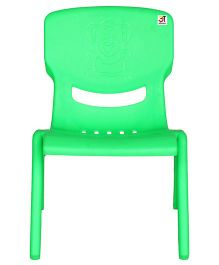 Abhiyantt Bear Shape Chair - Green