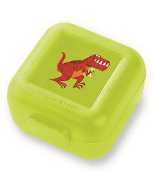 Crocodile Creek Sandwich Keeper Dino Print Set of 2 - Green