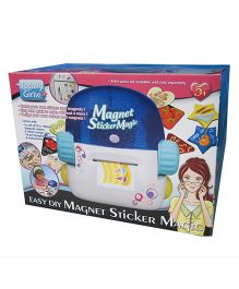 Totally Girlie Magnet Sticker Magic - Multi Color