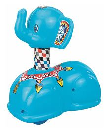 Deo Press N Go Elephant Toy - Multi-Color