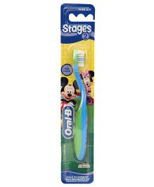 Oral-B Extra Soft Tooth Brush Stage 2 - Blue Green