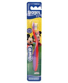 Oral-B Extra Soft Tooth Brush Stage 2 - Red Purple