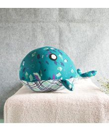 BOBTAIL by Misha's Creation Whale Soft Toy - Teal Blue