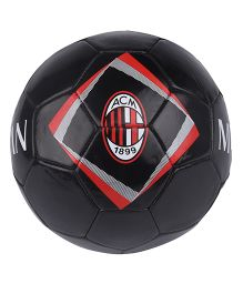 Kidsmojo A.C. Milan Football Size 5 - Black