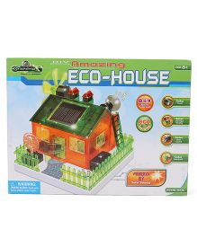 Amazing Toys D.I.Y Amazing Eco-House - Multi Color