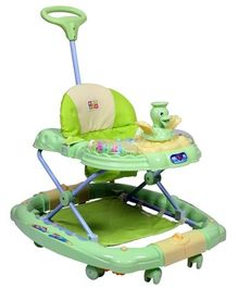 Mee Mee Premium Baby Walker With Rocker - Light Green