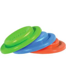 Pura Silicone Sealing Disks Pack of 3 - Green Orange Blue