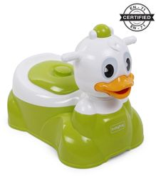 Babyhug Duckling Potty  Chair - Green