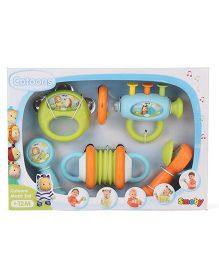 Smoby Cottons Musical Set Pack Of 5 - Multi Color